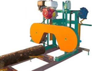 Пилорамы ленточные горизонтальные бензиновые Алтай700А - 900Aprof