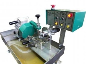 Станок для заточки ленточных пил (Максимальная ширина пилы 60 мм) АЗУ-09