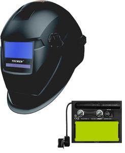 Сварочная маска с автоматическим светофильтром Tecmen ADF-715S TM15 черная, 9-13 DIN