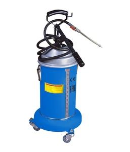 Солидолонагнетатель Trommelberg UZM1208 с ручным насосом, вместимость 13кг