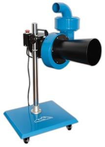 Мобильная установка для вытяжки отработанных газов Trommelberg MFS-0,9M, вентилятор 900 м3/ч, 220В, под шланг 75мм
