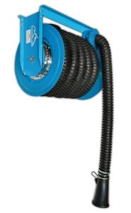 Катушка для вытяжки отработанных газов Trommelberg HR80-10/75 со шлангом 75мм X 10м