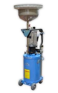 Установка 80 л. Trommelberg UZM8097, для откачки через щуп и слива отработаного масла