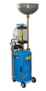 Установка 80 л для слива масла и забора через щуп Trommelberg UZM80 с предкамерой и подъёмной ванной