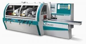 Четырехсторонний строгальный станок  G 240/4 - GRIGGIO, Италия ( Шп. 4 , макс. сечение 240*160 мм, 4-24 м / мин )