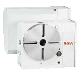Одноосевой поворотный стол ЧПУ CNC-200RB GSA+ (заднее положение двигателя)