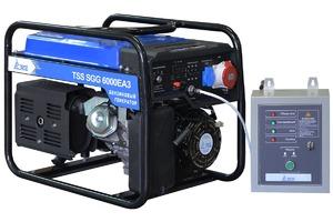 Бензогенератор TSS SGG 6000 E3A с АВР
