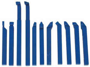 Набор токарных резцов с напайными пластинами 11 шт. 8 мм