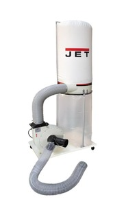 Jet DC-1200 - Установка вентиляционная пылеулавливающая 230B (Производительность 1200 м3/час )