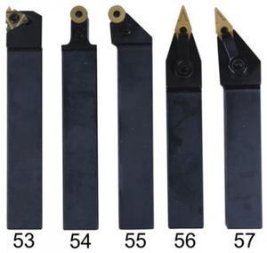Набор токарных резцов со сменными пластинами 5 шт. 20 мм
