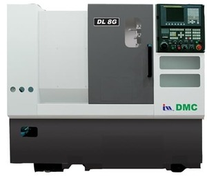 DMC DL 6G, Токарные станки с ЧПУ, диаметр обработки 490 мм.