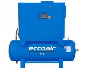 Маслонаполненный винтовой компрессор Eccoair F3 - 7.5