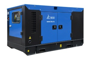 Дизельный генератор ТСС АД-24С-Т400-1РКМ11 в шумозащитном кожухе