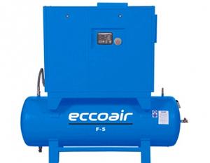 Маслонаполненный винтовой компрессор Eccoair F5 - 13
