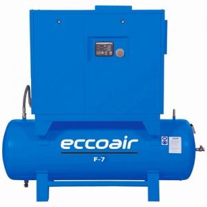 Маслонаполненный винтовой компрессор Eccoair F7 - 13 Compact