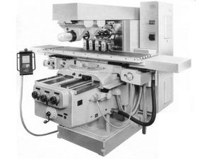 Горизонтальный консольно - фрезерный станок Heckert FU450MR