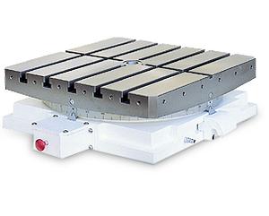 Одноосевой поворотный стол с хиртовым зацеплением ЧПУ GCT-301 GSA+ ручной поворот от кнопки