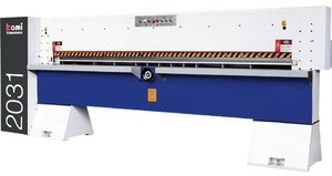 Гильотина для шпона MQ 2031A - ( Длина обрабатываемого шпона до 3100 мм ) Китай