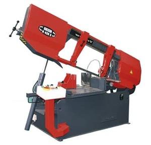 H420S - Полуавтоматический ленточнопильный станок, диаметр круглой заготовки 420 мм.