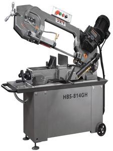 HBS-814GH - Ленточнопильный станок, диаметр круглой заготовки 200 мм.