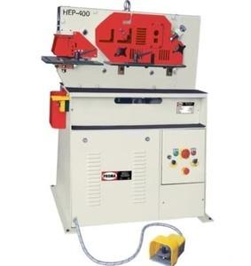 HEP-400 - Комбинированные гидравлические пресс-ножницы (Мощность двигателя - 3 кВт., масса - 580 кг.)