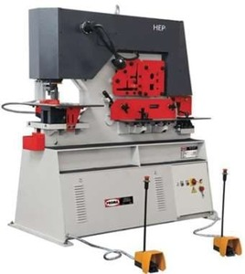 HEP-850 - Комбинированные гидравлические пресс-ножницы (Усилие - 85 тн., масса - 2315 кг.)