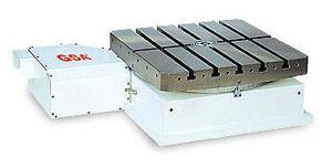 Горизонтальный одноосевой поворотный стол с хиртовым зацеплением ЧПУ HIT-400 GSA+