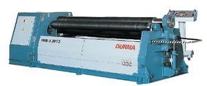HRB-3 2013 - Гидравлические 3-х вальцовочные станки DURMA (Толщина гибки 13 мм., Длина гибки 2050мм.)