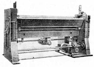 Машины листогибочные гидравлические И2114
