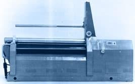 Машины листогибочные четырехвалковые И2416П
