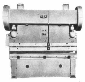 Прессы листогибочные гидравлические ИА1328