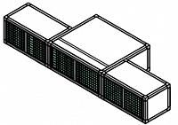 Блоки диагональной вытяжки (3 предмета)