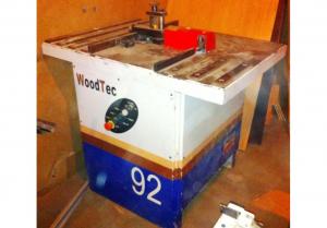 Фрезерный станок для снятия свесов WoodTec 92 б/у, 2008 г.в.