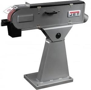 JBSM-75 - Ленточный шлифовальный станок, стол - 75х500 мм., мощность - 2,1 кВт.