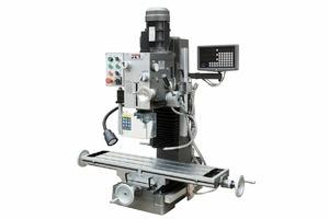 JET JMD-45LPFD - Редукторный фрезерно-сверлильный станок с автоматической подачей по оси Z и УЦИ
