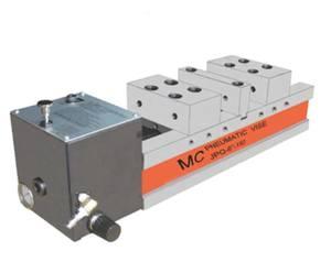 Пневматические прецизионные тиски высокого давления Partner JPQ-6-150