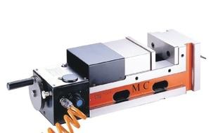 Пневматические прецизионные тиски высокого давления Partner JPV-6-160