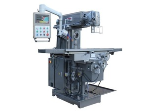 JET JUM-1464VHXL DRO - Широкоуниверсальный фрезерный станок (стол 1600х360 мм., Мощность 5,5 кВт.)