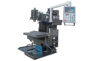JET JUTM-1230 Servo DRO - Универсальный фрезерный станок (стол 890х225 мм., Мощность 3,7 кВт.)