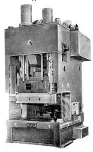 Прессы двухкривошипные простого действия открытые К3034