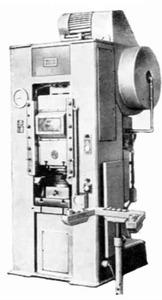 Пресс кривошипно-коленный чеканочный КБ8332