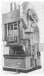 Прессы двухкривошипные простого действия открытые КА3132А