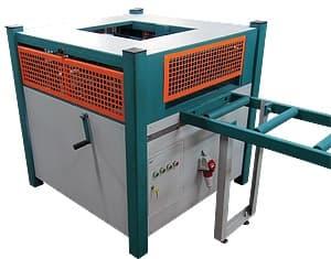 Кромкообрезной станок проходного типа КМ-350 (Мощность 11,5 кВт, H max= 60 мм.)