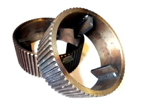 Кольцо на рифлёный подающий валец рейсмусового станка СР6-8, СР6-9, СР8-1