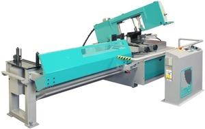 KTECH 450 - Автоматический ленточнопильный станок, диаметр круглой заготовки 310 мм.