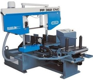 PP 602 CNC - Ленточнопильный станок, диаметр круглой заготовки 600 мм
