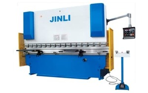 JINLI-125/3200 - Листогиб гидравлический  (Усилие - 125 тн., Длина стола 3200 мм., толщина на всю длинну до 6 мм.)