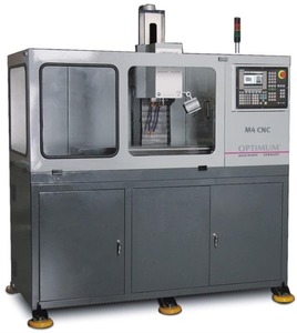 Компактный фрезерный станок с ЧПУ Optimum M4HS CNC