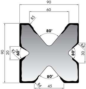 Матрица для листогибочного пресса Rolleri M490
