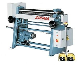 Электромеханические вальцы Durma MRB-e 1002